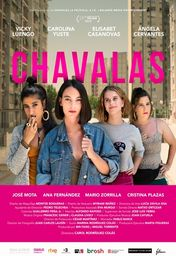 Cartel oficial en español de: Chavalas