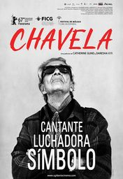 Cartel oficial en español de: Chavela