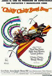 Cartel oficial en español de: Chitty Chitty Bang Bang