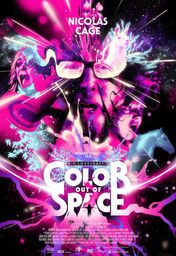 Cartel oficial en español de: Color Out of Space