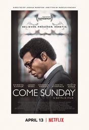 Cartel oficial en español de: Come Sunday
