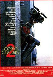 Cartel oficial en español de: Cortocircuito 2