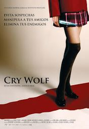 Cartel oficial en español de: Cry Wolf