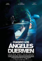 Cartel oficial en español de: Cuando los ángeles duermen