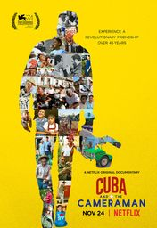 Cartel oficial en español de: Cuba and the Cameraman