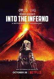 Cartel oficial en español de: Dentro del volcán