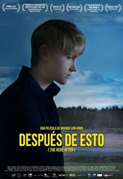 Cartel oficial en español de: Después de esto (The Here After)