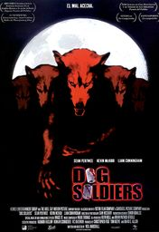 Cartel oficial en español de: Dog Soldiers