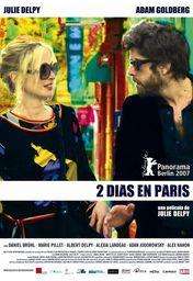 Cartel oficial en español de: 2 días en París