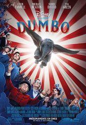 Cartel oficial en español de: Dumbo