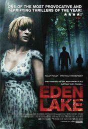 Cartel oficial en español de: Eden Lake
