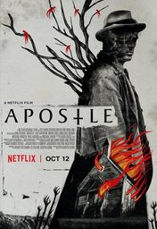 Cartel oficial en español de: El apóstol