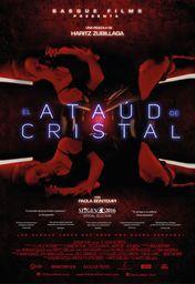 Cartel oficial en español de: El ataúd de cristal