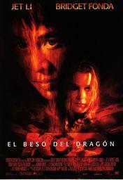Cartel oficial en español de: El beso del dragón