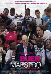 Cartel oficial en español de: El buen maestro