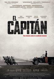 Cartel oficial en español de: El capitán