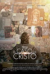 Cartel oficial en español de: El caso de Cristo