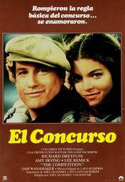 Cartel oficial en español de: El concurso