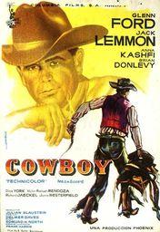 Cartel oficial en español de: El Cowboy