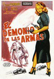 Cartel oficial en español de: El demonio de las armas