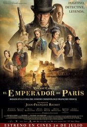 Cartel oficial en español de: El emperador de París