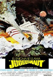 Cartel oficial en español de: El enigma se llama Juggernaut