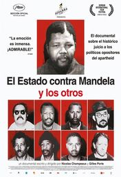 Cartel oficial en español de: El Estado contra Mandela y los otros