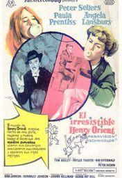Cartel oficial en español de: El irresistible Henry Orient