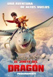 Cartel oficial en español de: El jinete del dragón