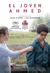 Cartel oficial en español de: El joven Ahmed