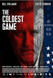 Cartel oficial en español de: El juego más frío