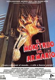 Cartel oficial en español de: El monstruo del armario