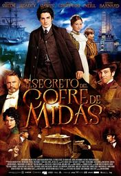 Cartel oficial en español de: El secreto del cofre de Midas
