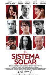 Cartel oficial en español de: El sistema solar