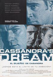 Cartel oficial en español de: El sueño de Casandra