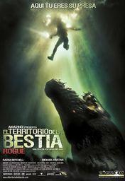 Cartel oficial en español de: El territorio de la bestia