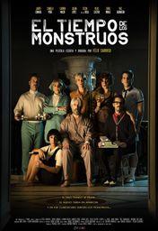 Cartel oficial en español de: El tiempo de los monstruos