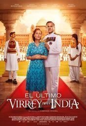 Cartel oficial en español de: El último virrey de la India