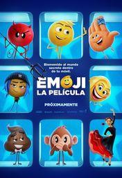 Cartel oficial en español de: Emoji: La película
