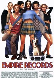 Cartel oficial en español de: Empire Records