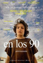 Cartel oficial en español de: En los 90