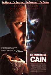 Cartel oficial en español de: En nombre de Caín