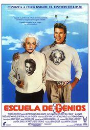 Cartel oficial en español de: Escuela de genios