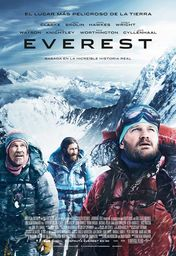 Cartel oficial en español de: Everest