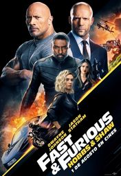 Cartel oficial en español de: Fast & Furious: Hobbs & Shaw