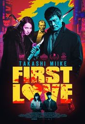 Cartel oficial en español de: First Love