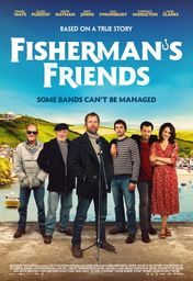 Cartel oficial en español de: Fisherman's Friends (Música a bordo)