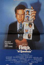 Cartel oficial en español de: Fletch, el camaleón