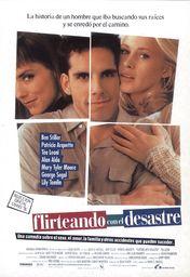 Cartel oficial en español de: Flirteando con el desastre
