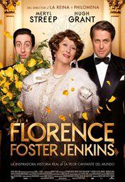 Cartel oficial en español de: Florence Foster Jenkins
